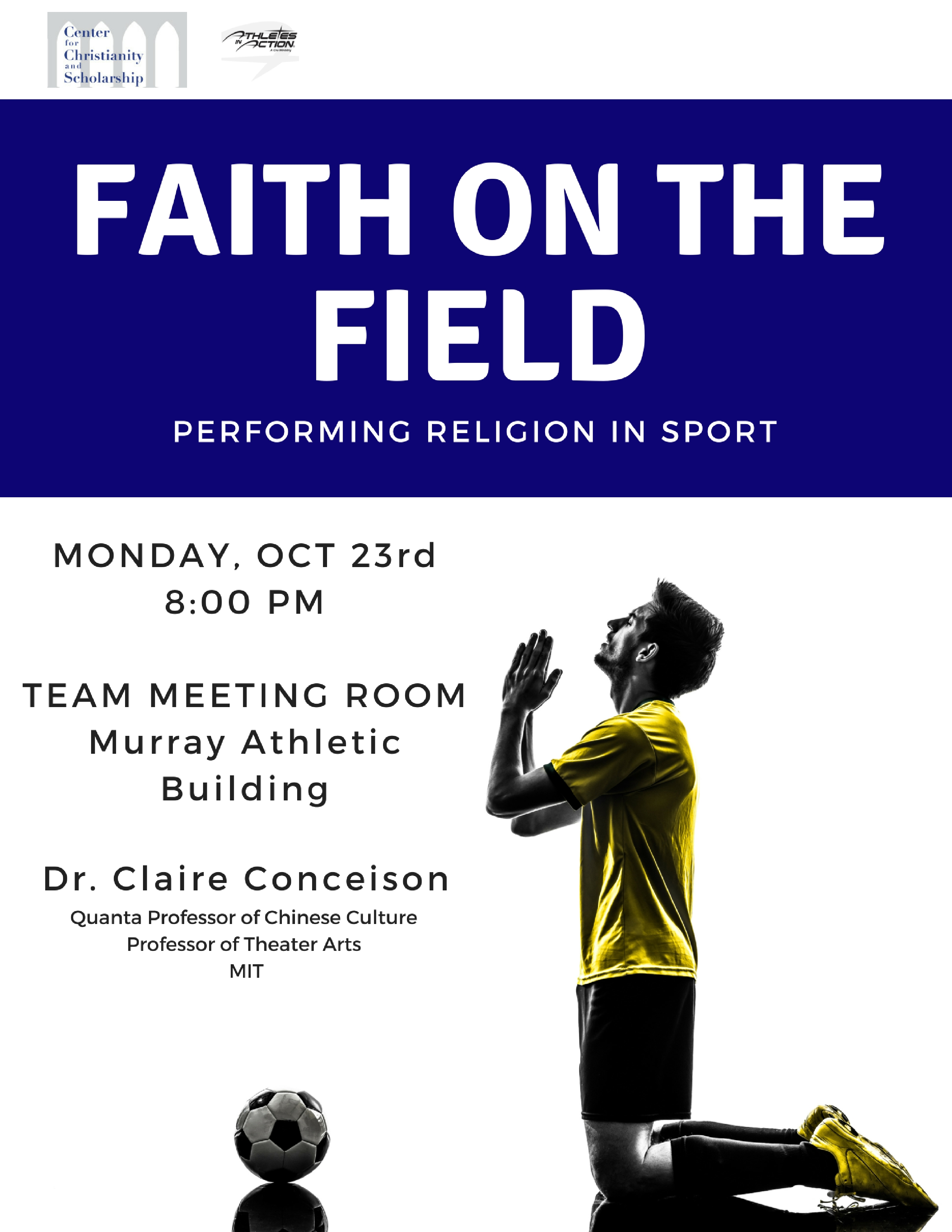 Faith on the Field: Performing Religion in Sport